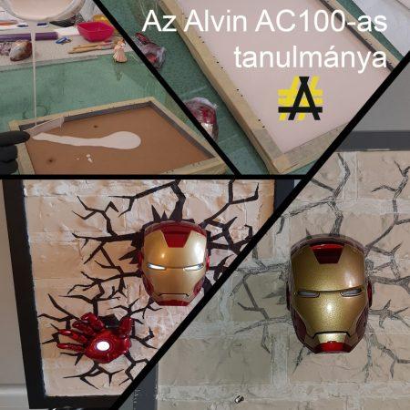 AC100 akril gyanta (1kg) + Jesmonite por, kiszerelt (2,5 kg)@