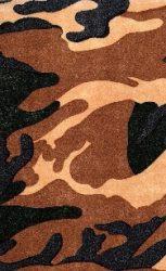 Dekor fátyol terepmintás (R 101 C)