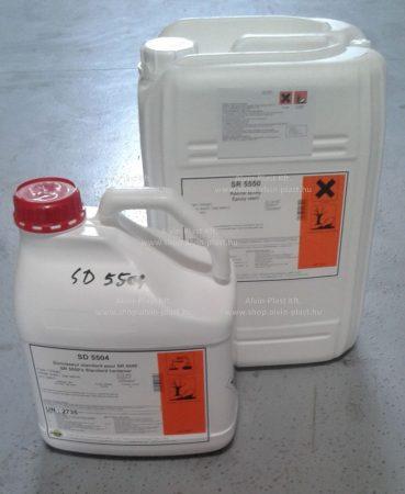 SR 5550 epoxy resin + SD 5502 hardener (1+0,3 kg)