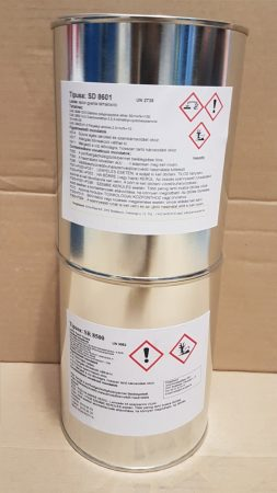 SR 8500 epoxy resin + SD 8601 hardener 1+0,35 kg