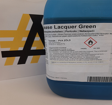 Formaleválasztó PVA 741-0652 (4,5kg/doboz)zöld