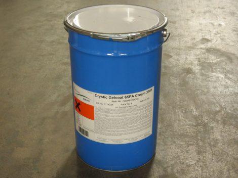 Gelcoat is brush white H22E9106PZ (25kg)