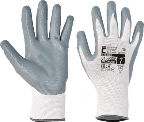 BABBLER nylon nitrile gloves - 10