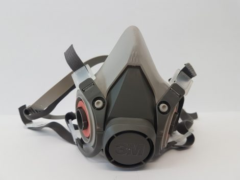 3M Half mask with replaceable insert, double filter (M) (6200)