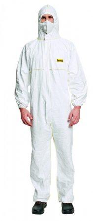 Overall fehér, XXL méret (DuPont CHF5)