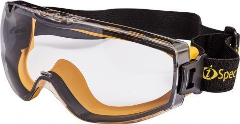 Zárt védőszemüveg, indirekt szellőzéssel, víztiszta, AF,HP,OP (OBTERRE IS)