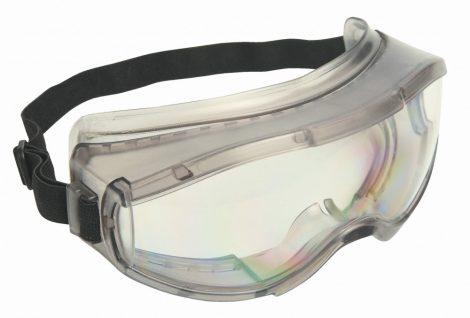 Zárt védőszemüveg, indirekt szellőzéssel, víztiszta (WAITARA)