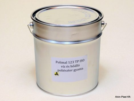 ISN 0841/AT ISO paraffin mentes poliészter gyanta 5kg
