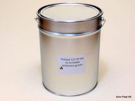 Poliészter isoftálsavas lamináló gyanta - ISN 0841/AT paraffin mentes, kiszerelt 10kg @