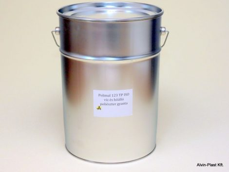 ISN 0841/AT ISO paraffin mentes poliészter gyanta 25kg