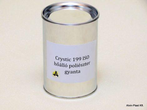 Crystic 199 ISO  poliészter gyanta nem előgy., nem paraffinos, kiszerelt  1kg @