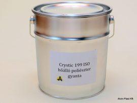 Crystic 199 ISO  poliészter hőálló gyanta  3kg