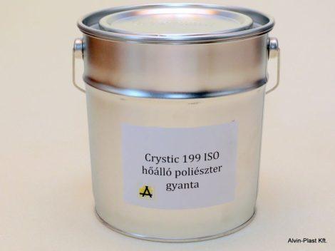 Crystic 199 ISO  poliészter gyanta nem előgy., nem paraffinos, kiszerelt  3kg @