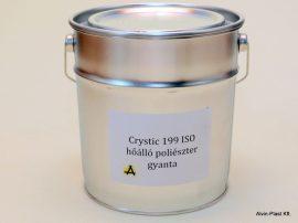 Crystic 199 ISO  poliészter hőálló gyanta  5kg