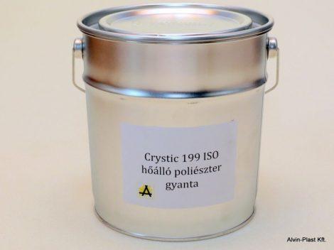 Crystic 199 ISO  poliészter gyanta nem előgy., nem paraffinos, kiszerelt  5kg @