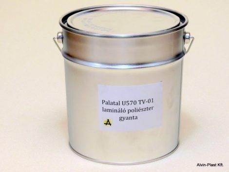 Palatal U570 TV-01 lamináló poliészter gyanta kiszerelt  5 kg @