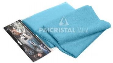 Mikroaktív kendő, kék 40x40cm, 2db/csomag (800001)