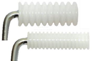 Roller műanyag keresztbordás 140x35mm (PTC35-140/BBQ)(*PT35140)