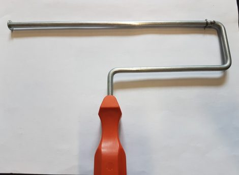 """Roller szár 9"""" - 225mm hosszú (225/WFQ)(*WF225)"""