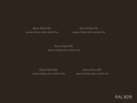 Színezőpaszta RAL 8019 barna kiszerelt (0,5kg) @