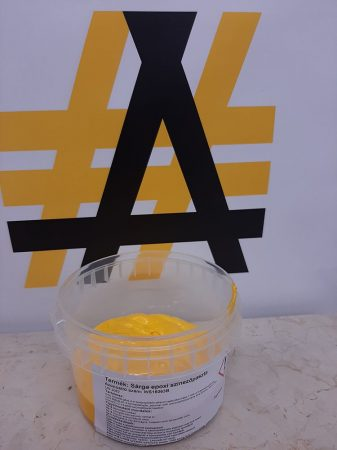 Epoxi színezőpaszta Golden Yellow (sárga) kiszerelt (0,1kg) @