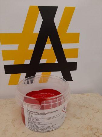 Epoxy coloring paste - Red Pigment - 0,5 kg