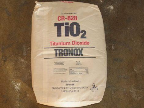 Titándioxid (Tronox CR-828) (TiO2 rutil) 25kg
