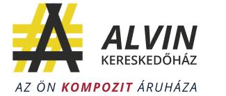 ALVIN Kereskedőház Zrt. kompozit anyagok webáruháza